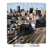 Xcel Energy Center St. Paul Minnesota Shower Curtain