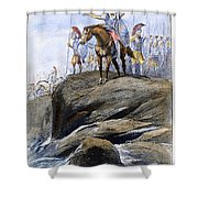 Xenophon Anabasis Shower Curtain