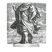 Xenophon Of Athens, Ancient Greek Shower Curtain