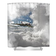 Xh558 At Altitude Shower Curtain
