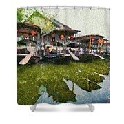 Xi Tang Town Shower Curtain