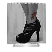 Xim Tattoo Shower Curtain