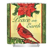 Xmas Around The World 1 Shower Curtain