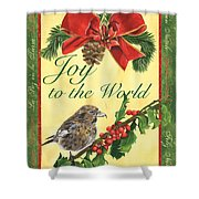 Xmas Around The World 2 Shower Curtain