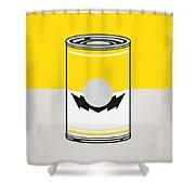 Y Mario Warhols Minimal Can Poster-wario Shower Curtain
