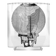 Yablochkov Candle Shower Curtain