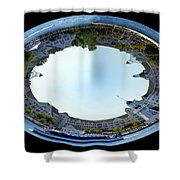Yacht And Beach Club Walt Disney World Oval Image Shower Curtain
