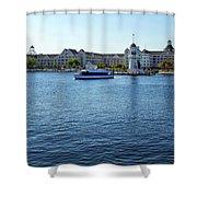 Yacht And Beach Club Wdw Shower Curtain