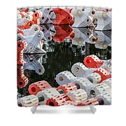 Yacht Club Buoys 4 Shower Curtain