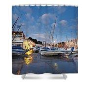 Yacht Club Shower Curtain