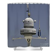 Yacht Radar Shower Curtain