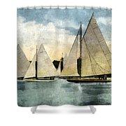 Yachting In Saugatuck Shower Curtain