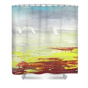 Yachts On The Riviera Shower Curtain