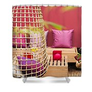 Yado Garden Shower Curtain