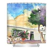 Yaiza 01 Shower Curtain