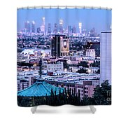 Yamashiro View Of La Shower Curtain