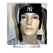 Yankee Fan Shower Curtain