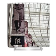 Yankee Old Timers Flags Shower Curtain