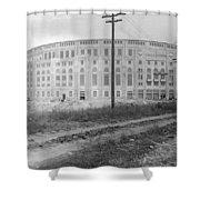Yankee Stadium, 1923 Shower Curtain