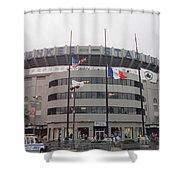 Yankee Stadium 1976 - 2008 Shower Curtain