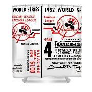 Yankees 4th Straight - Modern Shower Curtain