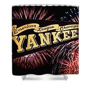Yankees Pennant 1950 Shower Curtain