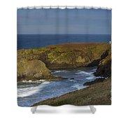 Yaquina Head Light Shower Curtain