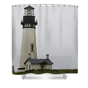 Yaquina Head Light  Shower Curtain