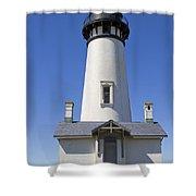 Yaquina Head Lighthouse 2 Shower Curtain