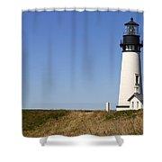 Yaquina Head Lighthouse 3 Shower Curtain