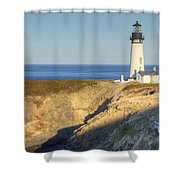 Yaquina Head Lighthouse 4 G Shower Curtain