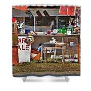 Yard Sale Shower Curtain