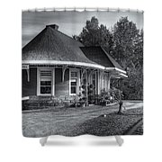 Yarmouth Grand Trunk Railroad Station II Shower Curtain