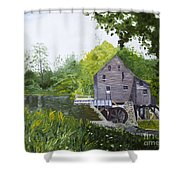 Yates Mill Summer Shower Curtain