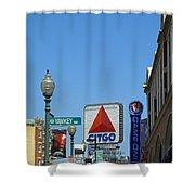 Yawkey Way And Citgo Shower Curtain