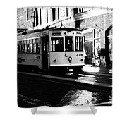 Ybor Street Car Shower Curtain
