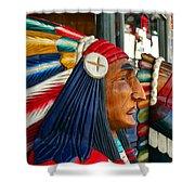 Ybor Tribe Shower Curtain