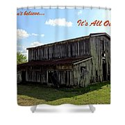Ye Old Homestead Shower Curtain