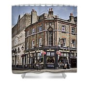 Ye Old Rose And Crown Shower Curtain