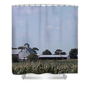 Ye Olde Farmstead Shower Curtain