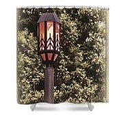 Ye Olde Street Lamp Shower Curtain