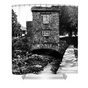 Ye Olde Toll Bridge Shower Curtain