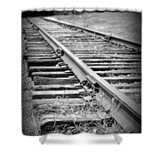 Ye Olde Tracks Shower Curtain