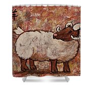 Year Of The Ram  Shower Curtain