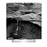 Years Of Erosion Shower Curtain