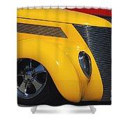 Yellow '37 Shower Curtain