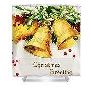 Yellow Bells Shower Curtain