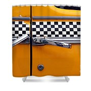 Yellow Cab - 3 Shower Curtain