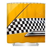 Yellow Cab - 4 Shower Curtain