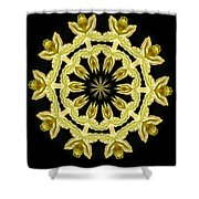 Yellow Fantasy Shower Curtain